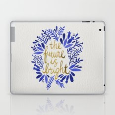 The Future is Bright – Navy & Gold Laptop & iPad Skin