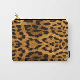 Baesic Leopard Print Carry-All Pouch