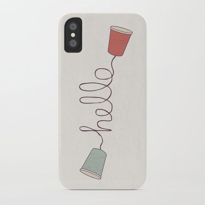 Hello! iPhone Case