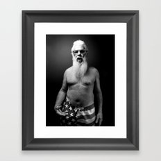 A Book of Beards Framed Art Print