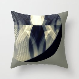 The moon is almost full tonight Throw Pillow
