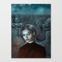 lorde Canvas Prints featuring LORDE MAGNETS by Brian Foott