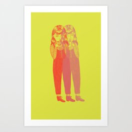 Seeing Double Art Print