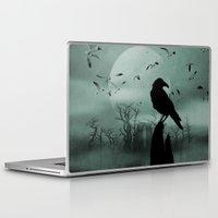 raven Laptop & iPad Skins featuring Raven by Tony Vazquez