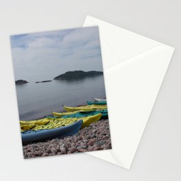 Lake Superior Shore Stationery Cards