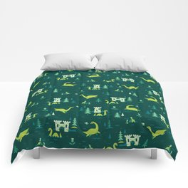 Cryptid Cuties: The Lochness Monster Comforters