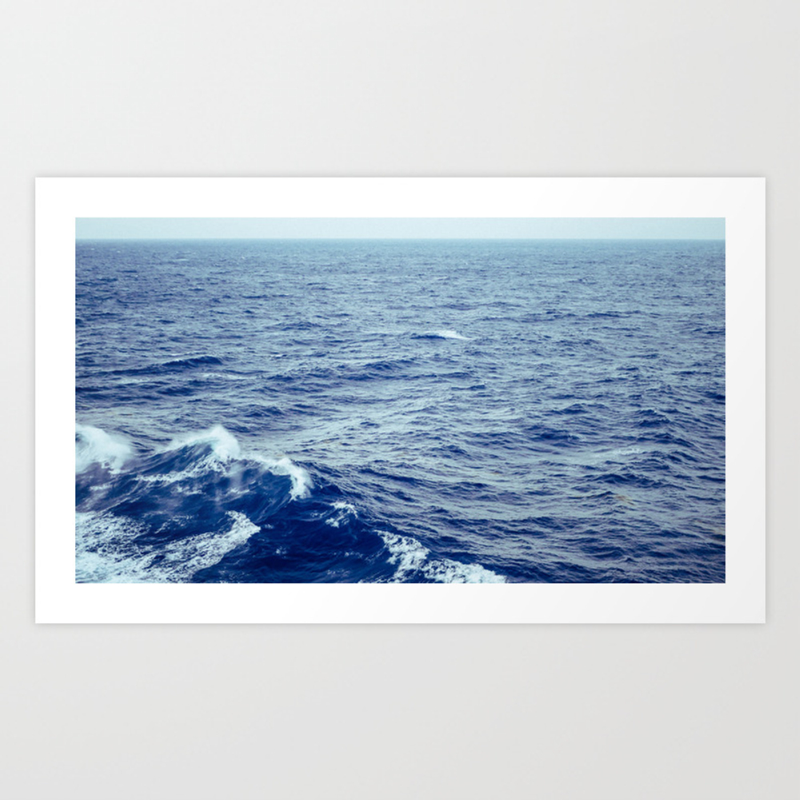 Makin' Waves Art Print by Jumatak PRN8275595