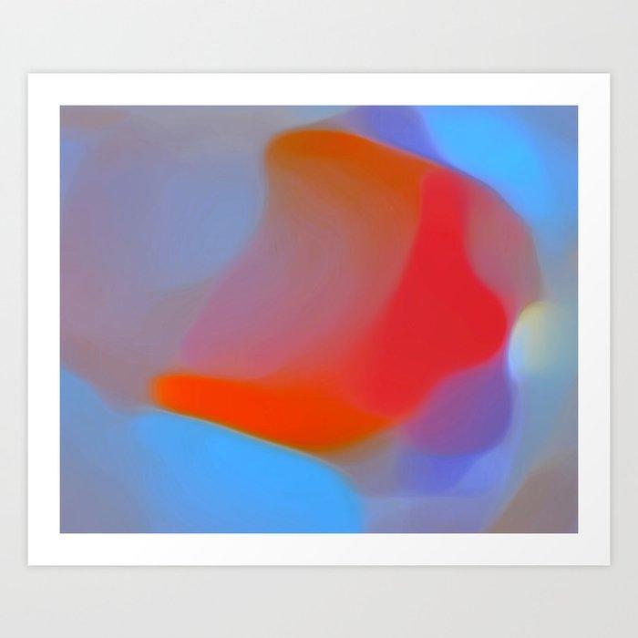 Diffuse colour Art Print