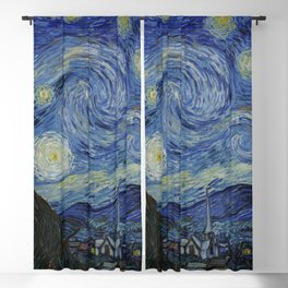 The Starry Night Blackout Curtain