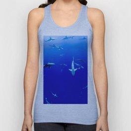 Sharks! Unisex Tank Top