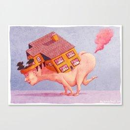 Fart House Canvas Print
