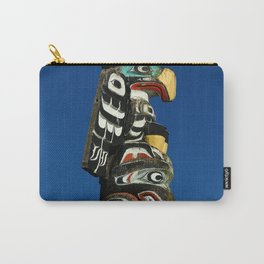 A Colorful Totem Carry-All Pouch