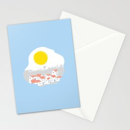 Breakfast Day  Stationery Cards