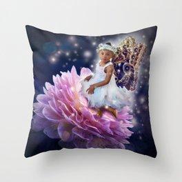 Jassy Fairy Throw Pillow