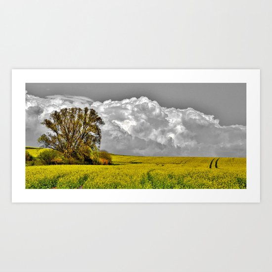 Before the rainstorm - photography Art Print