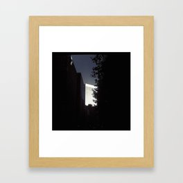 dark city Framed Art Print