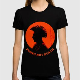 Punks not death T-shirt