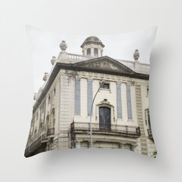 Delegation of the Spanish Government Building, Barcelona Throw Pillow