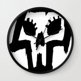 Sexy Skull - Black Wall Clock