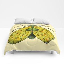 Moth n. 2 (ORIGINAL SOLD). Comforters