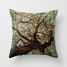 Tree Of Upliftment  Throw Pillow