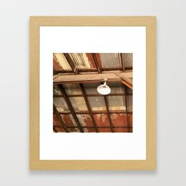 Ceiling workplace Framed Art Print