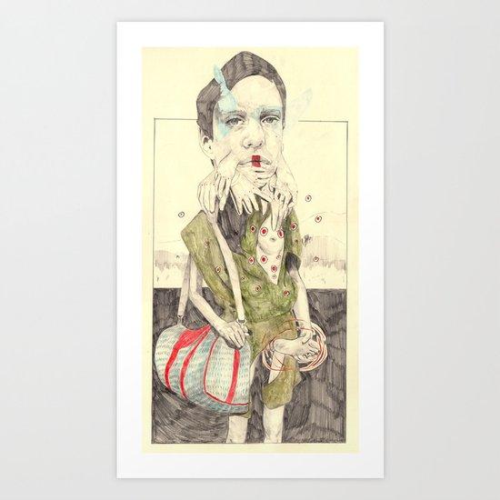 Figure(2) Art Print