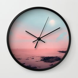 MISTY PINK Wall Clock