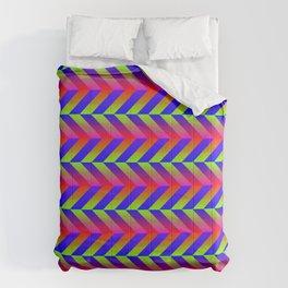 Zig Zag Folding Comforters