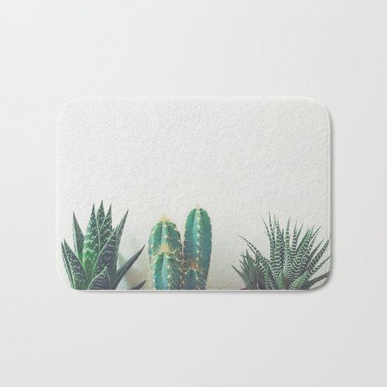Cactus & Succulents II Bath Mat