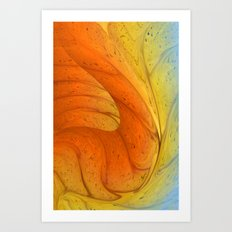 Waves of Sanity Art Print