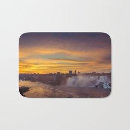 Sunrise at American Falls Bath Mat