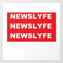 NEWSLYFE Art Print