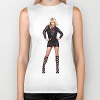 britney Biker Tanks featuring Britney by eriicms
