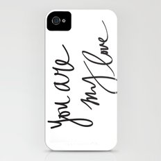 You Are My Love iPhone (4, 4s) Slim Case