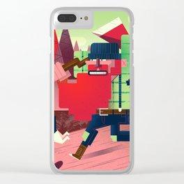 Jacques Le Brut Clear iPhone Case