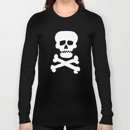 Rock Skull T-shirt Long Sleeve T-shirt