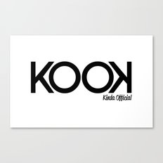 KOOK Canvas Print