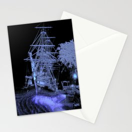 Ghostly Arrival. © J&S Montague. Stationery Cards