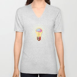 CREATIVE CONUNDRUM Unisex V-Neck