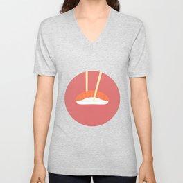 #16 Sushi Unisex V-Neck