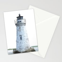 Lighthouse Illustration Stationery Cards