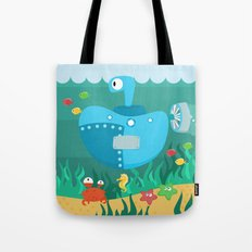 SUBMARINE (AQUATIC VEHICLES) Tote Bag
