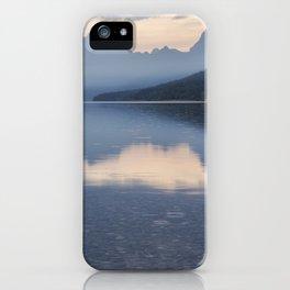 Early Morning at Lake McDonald - Glacier NP iPhone Case