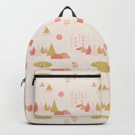 Scandinavian Summer Land 1 Backpack