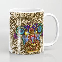 maybe its Rafiki // intricate baboon Coffee Mug