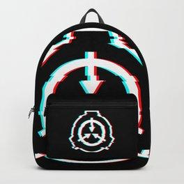 SCP Foundation Glitch Logo / Emblem Backpack
