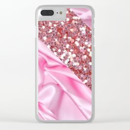 glam me up Clear iPhone Case