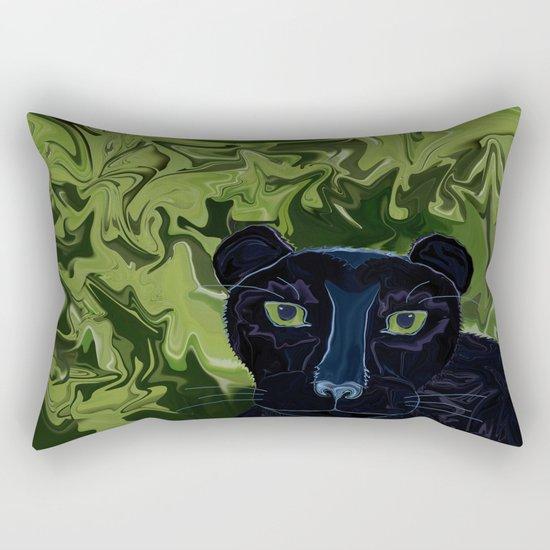 Do Panthers Fly? Rectangular Pillow