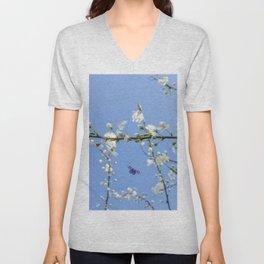 Spring buds Unisex V-Neck